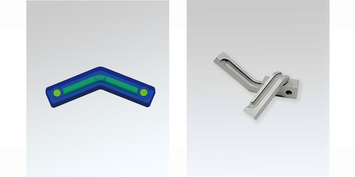 3D打印模具用水路链接块